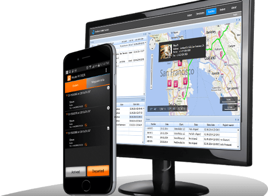 Delivery Dispatch Software with Courier App