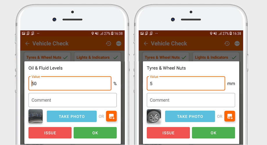 Multi function defect inspection app
